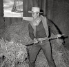 John Wayne In Hayloft 1947